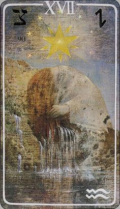 The Star from the Haindl tarot