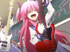 Yui was one of my favorite characters of Angel Beats. I cried so hard with her and Hinata's story
