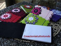 CREAZIONI A TUTTO TONDO: BLOCK NOTES
