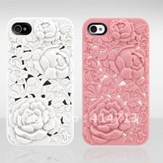For iPhone 4S Case Luxury Elegant 3D Sculptural Series Cover For iPhone 4 4s Hard Case For iPhone4G Fast Shipping $5.90