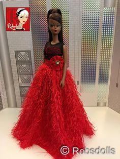 OOAK Silkstone Barbie von Robsdolls und Malkasten von robsdolls