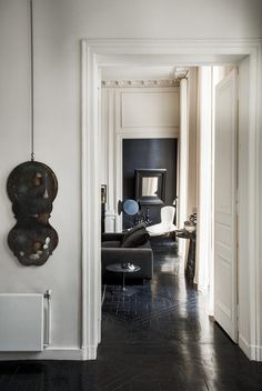 """Hardy bought the duplex 13 years ago and designed the space in reaction to his last home. """"I used to have a very, very big space,"""" he tells says of his former 2000-square-foot abode. """"In the..."""