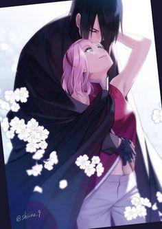#Naruto Sakura et Sasuke #Dessin shiino_9 #Manga #Ninja #Anime #Animation