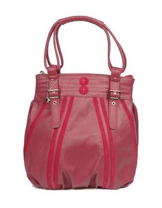 Praise Sapera Pink - A youthful pop pink bag by Baggit.