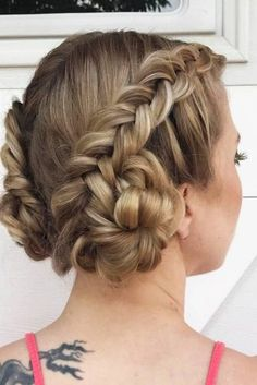 Beautiful Short Braided Hair picture 3