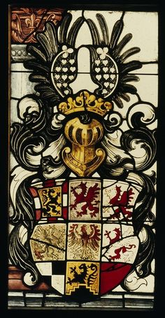 Ansbach, Stiftskirche, Wappen der Markgrafen von Brandenburg-Ansbach