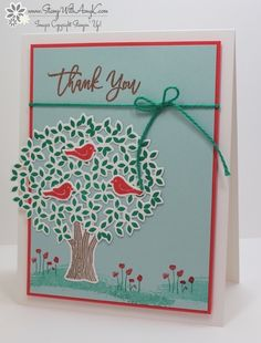 Stampin' Up! Thoughtful Branches Sneak Preview – Stamp With Amy K