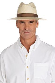 Panama Fedora - Shop UPF 50+ Mens Fedora Hats - Coolibar  Sun Protective  Clothing 99c8ad3d35d7