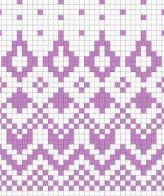 Fair Isle Knitting Patterns, Knitting Charts, Knitting Stitches, Knitting Socks, Crochet Art, Tapestry Crochet, Filet Crochet, Knit Or Crochet, Loom Weaving