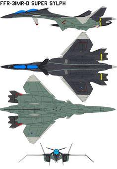 """FFR-31MR-D Super Sylph by <a href=""""http://bagera3005.deviantart.com"""" rel=""""nofollow"""" target=""""_blank"""">bagera3005.devian...</a> on @deviantART"""