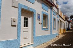 couleurs de Ferragudo blanc et pastel