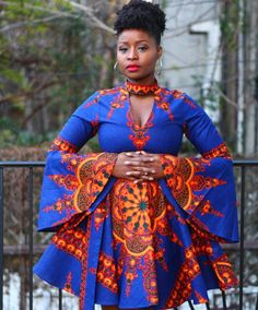 How To Dress to Impress With Ankara Head Wraps And Casuals - Sisi Couture African Print Dresses, African Dresses For Women, African Print Fashion, Africa Fashion, African Wear, African Attire, African Fashion Dresses, African Women, Fashion Prints