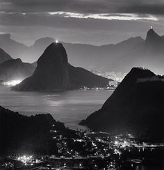 Night Lights, Rio de Janiero, Brazil, 2009.