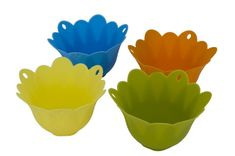 MIU France Silicone Egg Poaching Cups, Set of 4 * Additional details at the pin image, click it : Specialty Cookware Specialty Cookware, Poached Eggs, Cupping Set, Pin Image, Decorative Bowls, France, Cups, Link, Check