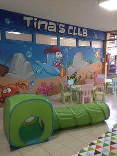 * Come and visit with your children our renewed Tina´s Club * Ven y visita con tus niños nuestro Tina´s Club renovado. #Gloriapalacesanagustín #Tinasclub