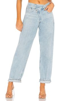 Shop for AGOLDE Criss Cross Upsized Jean in Suburbia at REVOLVE. Free day shipping and returns, 30 day price match guarantee. Fall Wardrobe, Capsule Wardrobe, Criss Cross, Boyfriend Jeans Outfit, Denim Trends, Revolve Clothing, Jean Outfits, Alter, What To Wear