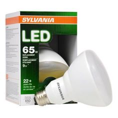 Sylvania Ultra Line LED Light Bulb, BR30, Soft White, 65 WE, E26