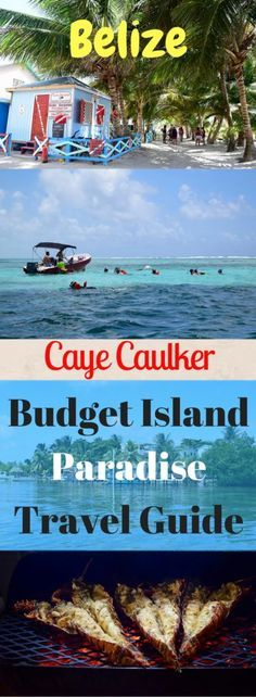 Visit the backpackers hub of Caye Caulker - we show you the cheapest options for how to get there, what to eat, where to stay & tours to Hol Chan!  If you only visit one place in Belize, make it Caye Caulker! Caye Caulker is a tiny coral island, an hour away from Belize City by water taxi. There's not much to see & do on the island but be sure to take a snorkeling tour out to Hol Chan Marine Reserve – swimming with nurse sharks & stingrays is an experience you'll never forget!