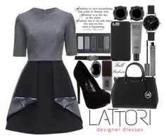 """LATTORI DRESSES"" by j-n-a ❤ liked on Polyvore featuring Bling Jewelry, Jin Soon, Chanel, Borghese, MAKE UP FOR EVER, Lattori, Burberry, ALDO, Olivia Burton and Case-Mate"