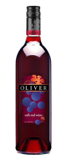 Oliver Soft Red Wine.....so DELISH!!!  Makes me happy!