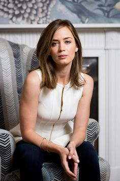 Emily Blunt photographed by John Phillips, June 2014.