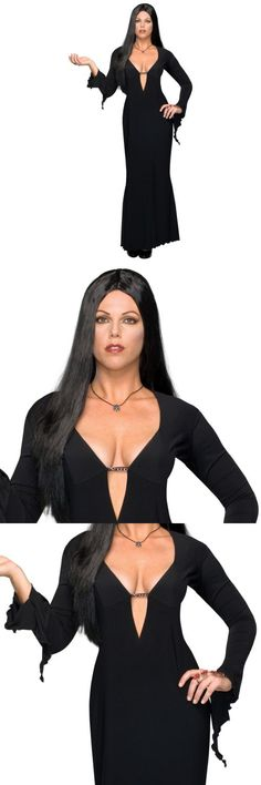 Halloween Costumes: Plus Size Morticia Costume Adult Addams Family Vampire Halloween Fancy Dress -> BUY IT NOW ONLY: $43.79 on eBay!