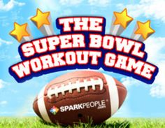 The Super Bowl Exercise Game: Work Out While You Watch   Healthy Living - Yahoo Shine (I did this on last year's super bowl. It was actually really fun!) :)