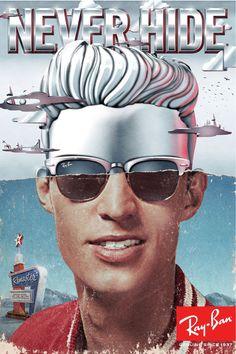Ray-Ban Clubmaster Aluminium l #eyewear