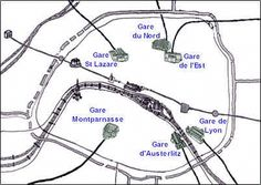 Image Result For Map Of Paris France Tourist Attractions