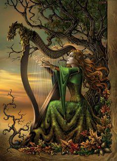 http://en.wikipedia.org/wiki/Celtic_tree_worship