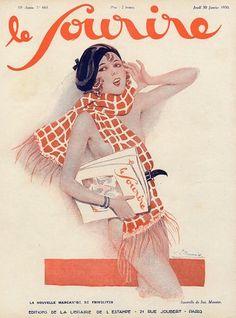 Le Sourire, 1930 ~ Suzanne Meunier