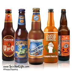 Carve out some good times with this favorite Pumpkin Beer Gift Set! They taste delicious