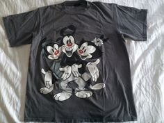 #vintage #90s XL #ANIMANIACS Double Sided #shirt by VintageShat on Etsy