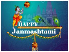 May the love and blessings of lord Krishna fill your life with happiness and virtues on janmashtami. Happy janmashtami from