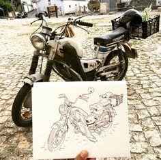 Zundapp - a mota é linda
