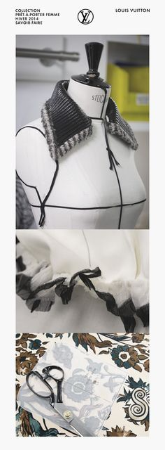 A behind the scenes look at the savoir-faire behind the Louis Vuitton Women's Fall 2014 Collection.