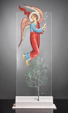 Βλάσιος Τσοτσώνης | Athens 2004 Byzantine Icons, Byzantine Art, Catholic Art, Religious Art, Jesus Art, Art Icon, Orthodox Icons, St Michael, Plexus Products