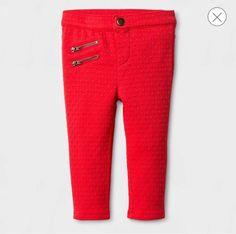 Toddler Girls' Knit Tregging Fashion Pants -12 Months  | eBay