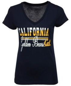 Colosseum Women's California Golden Bears PowerPlay T-Shirt - Blue M