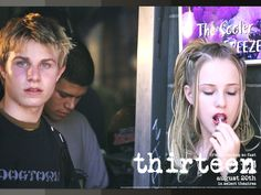 Thirteen - Wallpaper with Evan Rachel Wood & Brady Corbet. The image measures 1024 * 768 pixels and was added on 26 January Movies Showing, Movies And Tv Shows, Brady Corbet, Thirteen Movie, Evan Rachel Wood, Punks Not Dead, Film Aesthetic, Girl Inspiration, Film Stills