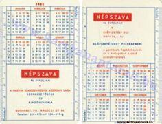 1962 - 1962_0066 - Régi magyar kártyanaptárak