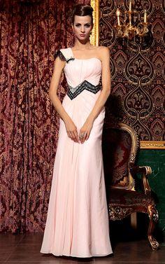 Elegantes Abendkleid in Rosa von www.online-mode.biz