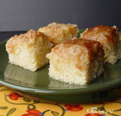 Coconut Caramel Cake, from Jamie Cooks it Up.  This looks easy and gooey rich.  Perfect pot luck dessert.