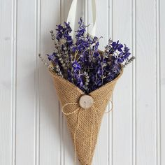 Hey, I found this really awesome Etsy listing at http://www.etsy.com/listing/101512075/khaki-burlap-pew-cone-with-reclaimed