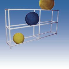 gym or exercise ball rack