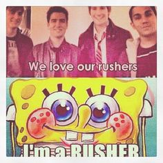 Big time rush and Spongebob hahaha