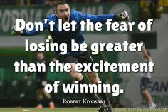 Don't let the fear of losing be greater than the excitement of winning. Success Quotes, Life Quotes, Motivational Affirmations, Excited Quotes, Robert Kiyosaki, Greater Than, Personal Development, Online Marketing, Make Money Online