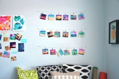 Creating an instagram wall for your home!   #instagramwall #photowall #photos #walldecor #decor #homedecor #decorideas #cutehomedecor #cutedecor