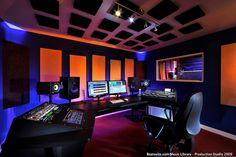 Argosy Aura Desk. my new home recording studio.......no sex in the champagne room ;)