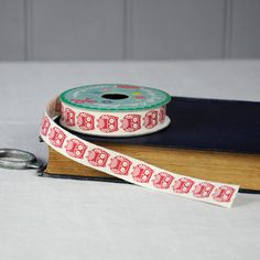 Vintage Crafts Cotton Ribbon Woodland Owls   dotcomgiftshop   Winter Sale Now On